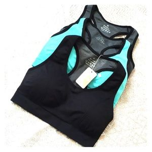 3 new with tags sports bras